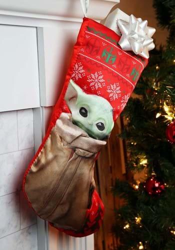 Star Wars Baby Yoda Stocking