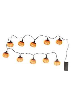 Jack-O Lantern 10 Light Indoor String Light Set