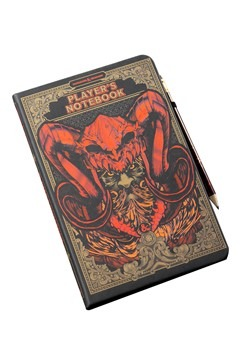 Dungeons & Dragons Notebook & Pencil