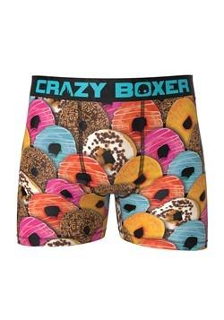 Crazy Boxers Men's Donuts Boxer Briefs