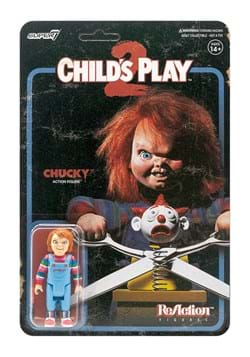 Reaction Childs Play Evil Chucky Action Figure
