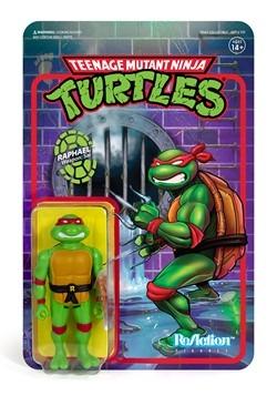 Reaction TMNT Raphael Action Figure