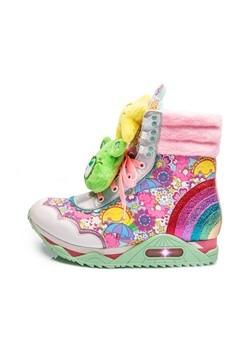 Irregular Choice Care Bears Born to Care Platform Sneakers4