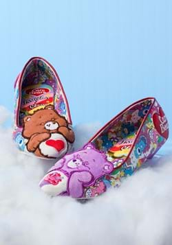 Irregular Choice Care Bears Sharing is Caring Flats New