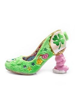 Irregular Choice Care Bears Grin & Share It GreenBlue Heels4