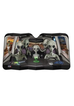 Car Full Of Aliens Car Sunshade