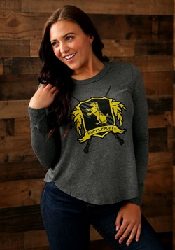 Harry Potter Hufflepuff Womens Long Sleeve Tee