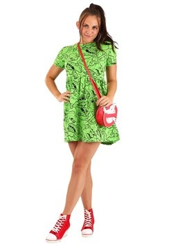 Women's Ghostbusters Slime Dress alt 2