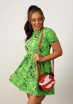 Women's Ghostbusters Slime Dress alt 3