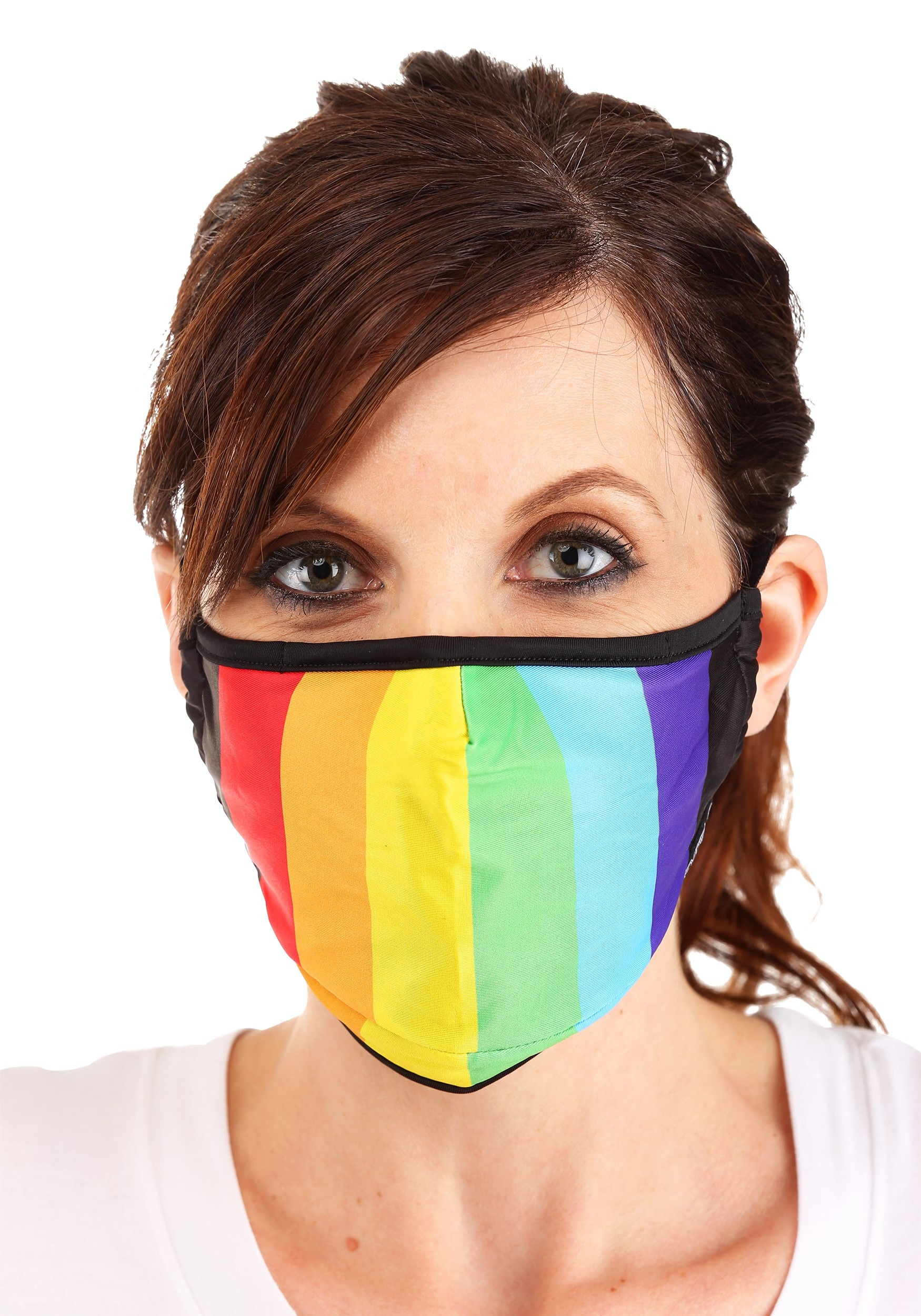 Pride Theme Protective Fabric Face Mask