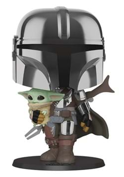 "POP Star Wars: Mandalorian- 10"" Mand. w/Chrome"
