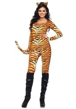 Sexy Wild Tiger Costume For Women