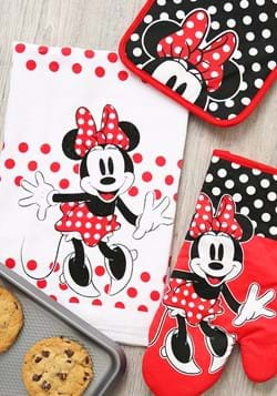 Minnie Surprise 3pc Kitchen Textile Set Upd