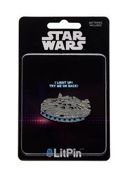 Star Wars Millennium Falcon Light Up Pin