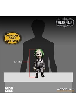 Mezco Designer Series Mega Scale Talking Beetlejuice Alt 2