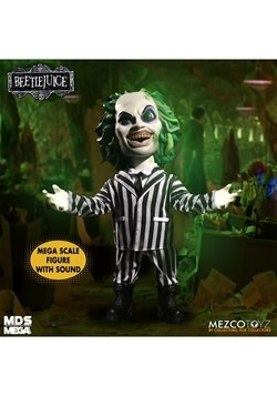 Mezco Designer Series Mega Scale Talking Beetlejuice Alt 3