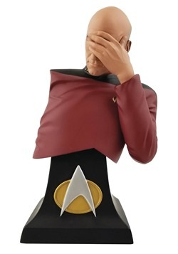 SDCC 2020 STAR TREK: TNG PICARD FACEPALM LTD ED BUST