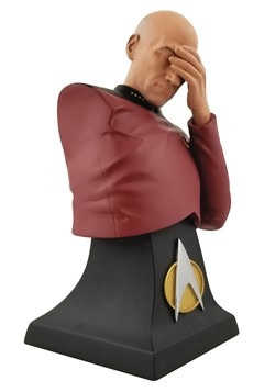 SDCC 2020 STAR TREK: TNG PICARD FACEPALM LTD ED BUST Alt 2