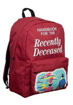 Beetlejuice Recently Deceased Laptop Backpack Alt 1