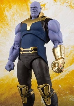 Avengers: Infinity War Thanos SH Figuarts Action F Alt 1