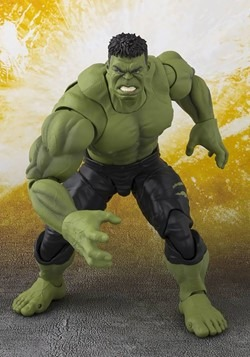 Avengers: Infinity War Hulk SH Figuarts Action Fig Alt 1