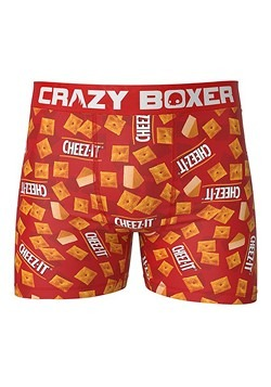 Crazy Boxers Men's Cheez-It Boxer Briefs