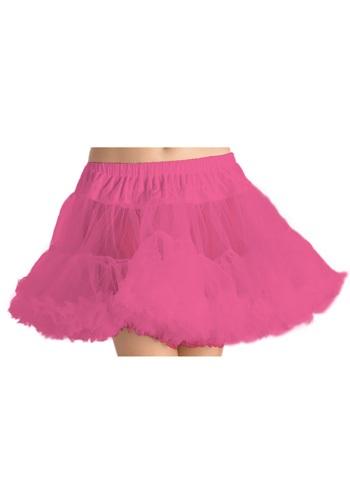 Women's Neon Pink Petticoat