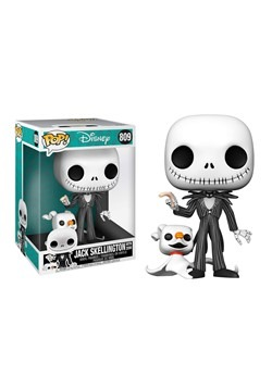 "POP Disney: Nightmare Before Christmas- 10"" Jack w"