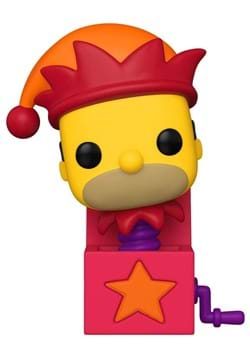 POP Animation: Simpsons- Homer Jack-In-The-Box