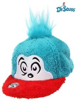 Thing 2 Fuzzy Cap - Dr. Seuss