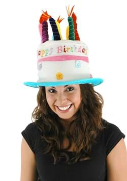Birthday Cake Plush Hat for Adults