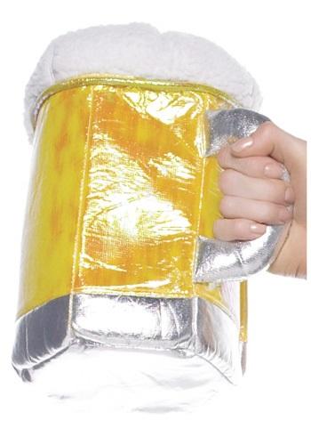 Plush Beer Stein Purse