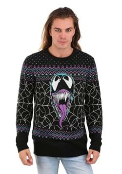 Adult Marvel Merry Venom Ugly Christmas Sweater