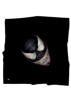 MARVEL VENOM FACE BLACK BANDANA