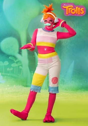 Trolls Womens DJ Suki Costume