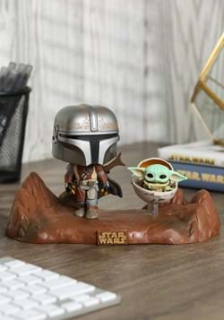 POP Moment: Mandalorian- Mandalorian & Child