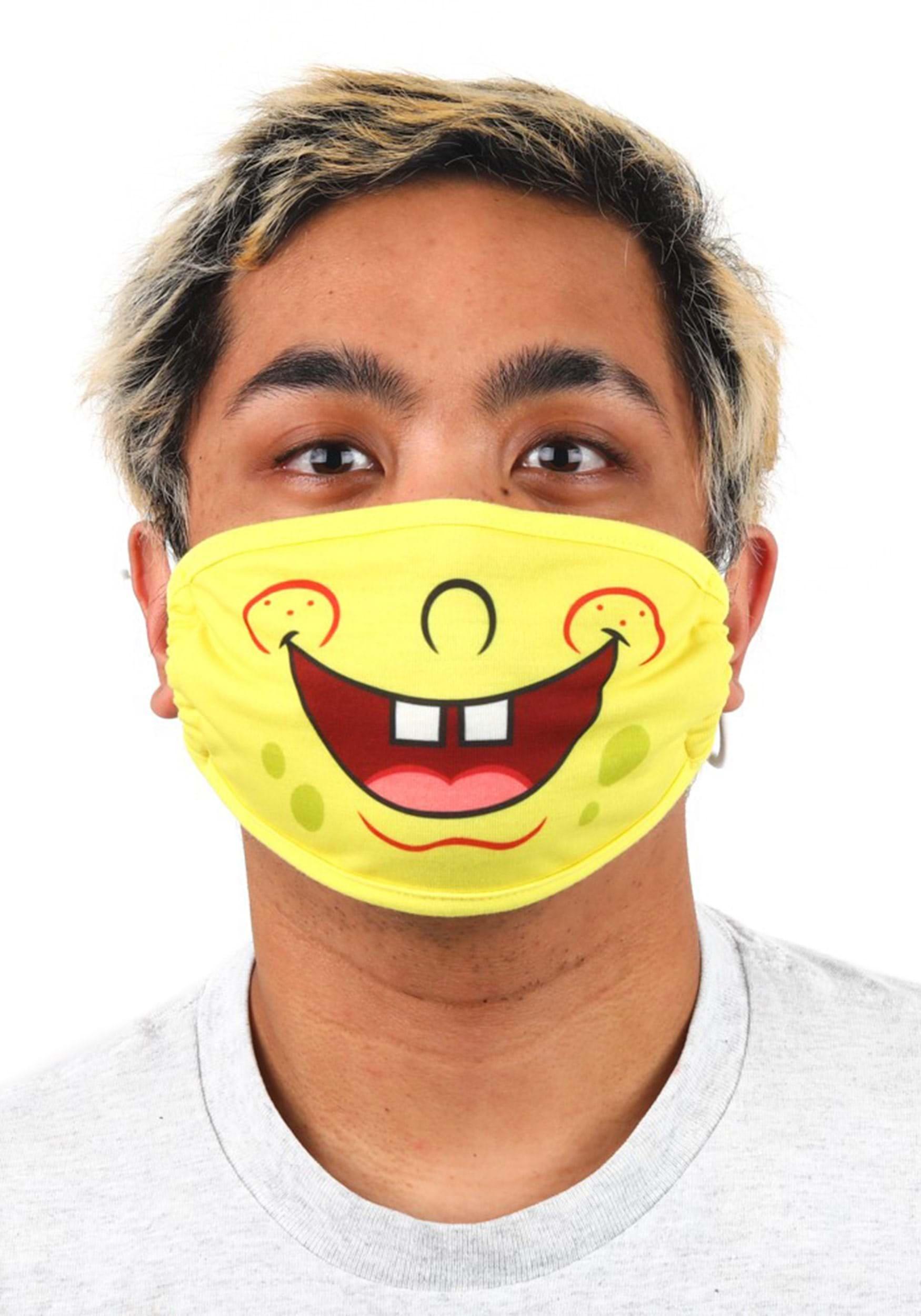 Spongebob Squarepants | Face Mask