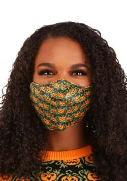 Pumpkins Sublimated Face Mask for Adults