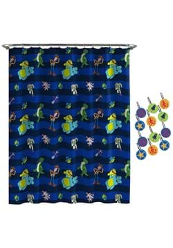 Toy Story Buzz & Woody Shower Curtain & Hook Set