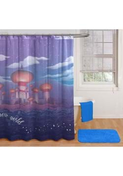 Aladdin Arabian Nights Shower Curtain & Hook Set