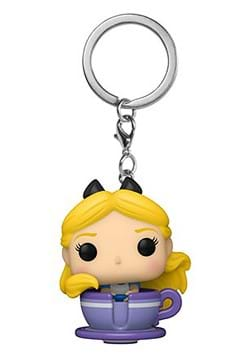 POP Vinyl Keychain Disney 65 Alice in Teacup Figure