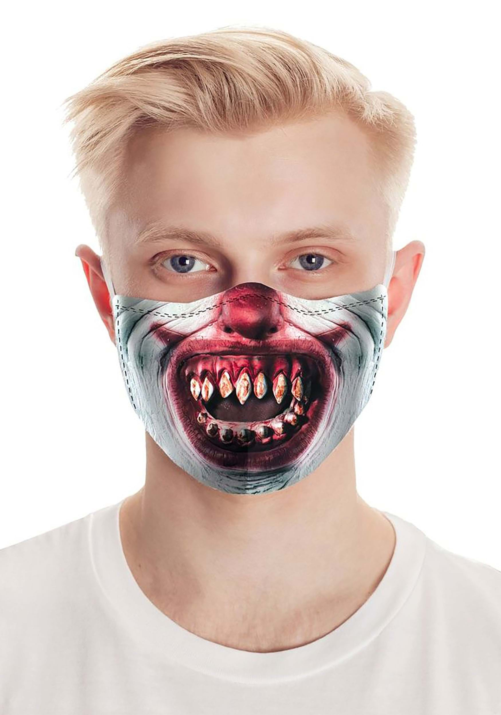 Razor Teeth | Clown Face Mask