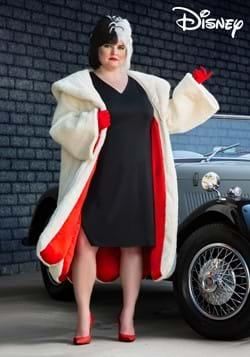 Plus Size Womens Deluxe Cruella De Vil Costume