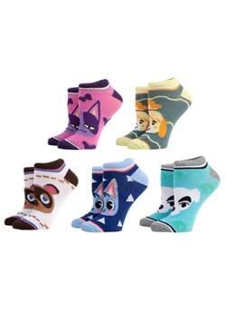 Animal Crossing 5 Pair Ankle Pack