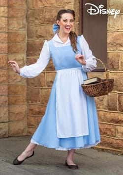 Womens Beauty and the Beast Belle Blue Dress Costume