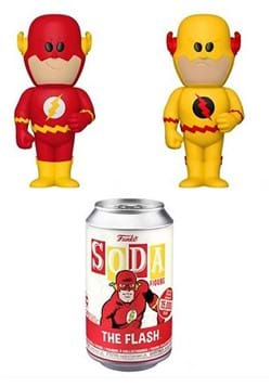 Vinyl SODA: DC- The Flash w/Chase