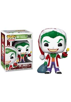 POP Heroes: DC Holiday- Santa Joker