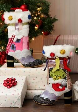 "Irregular Choice The Grinch ""I'm here for the Pres-1-1"