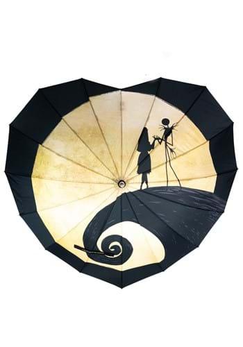 The Nightmare Before Christmas Heart Shaped Umbrella