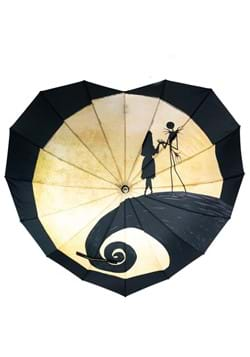 The Nightmare Before Christmas Heart Shaped Umbrella